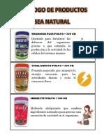 Catalogo de Sea