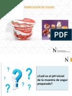 Lab 09-Preparación de Yogurt