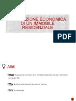 Valutazione Economica Di Un Immobile Residenziale