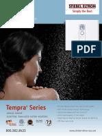 Brochure Tempra Trend Plus