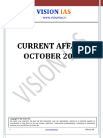 Vision IAS current affairs October 2019