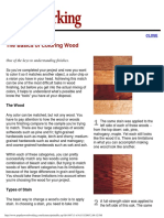 Basics of Coloring Wood, The