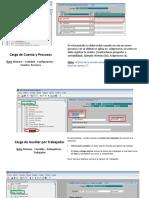 Carga de Cuentas Contables en Infocent