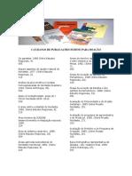 BIBLIOTECA - Catalogo de Publicacoes Sudene Para Doacao 2017 1