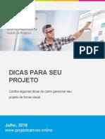 Project Canvas E-book Dicas Para Seu Projeto