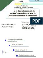 Assia Moumen Pfe-presentation-osmose Inverse-EMI