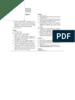 Testes Diagnósticos 5ºano- Soluções