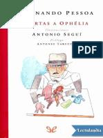 Cartas a Ophelia - Fernando Pessoa