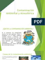 Contaminación Ambiental y Atmosférica