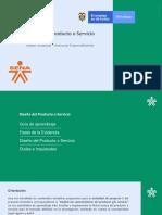 Diseño del Producto o Servicio