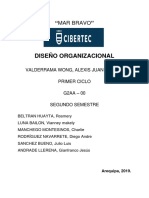 Proyecto Diseño Organizacional 2019 - Avance Final (1)