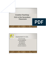 CLIL Assessment Powerpoint - Compatibility Mode