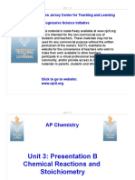 Part B Chemical Reactions and Stoichiometry Presentation-2013!10!25-1-Slide-per-page