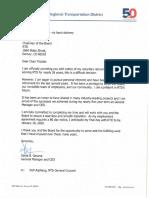 RTD Dave Genova Retirement Notice
