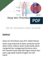 Deep Vein Thrombosis.pptx