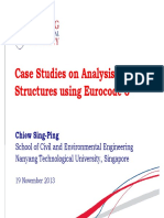 06-Case Studies on Analysis of Steel Structures Using Eurocode 3 - SP Chiew (19Nov13) v2
