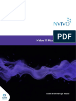 NVivo11 Getting Started Guide Plus Edition French