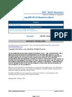 VNX 7600 SP I_O Module Replacement Procedure