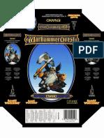 Warhammer Quest Aventureros, Aventurero Enano