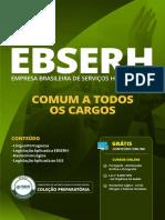 EBSERH - Comum a Todos Os Cargos 2019