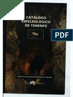Catalogo Espeleologico de Tenerife