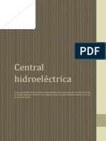 Informe Sobre Central Electrica
