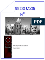 Quoth the Raven 26 (2019)