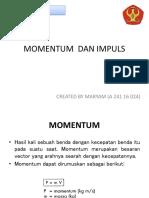 Materi 1 _MOMENTUM  DAN IMPULS.pptx