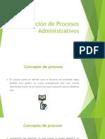 Descripción de Procesos Administrativos