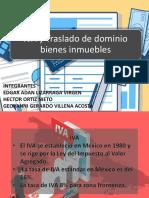 IVA y Traslado de Dominio