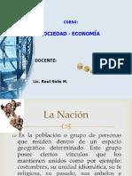 Sociedad y Economia