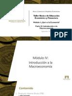 Parte 3 - Introducción a La Macroeconomía
