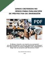 ARTICULO Evaluacion No Financiera de Proyectos (Final)