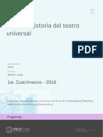 Uba Ffyl p 2016 Art Historia Del Teatro Universal