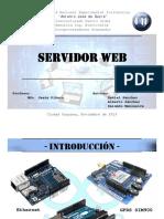 Sistema web embebido mediante arduino
