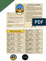 Warhammer Quest, Halfling Ladron Aventurero