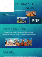 Comercio Mayas e Incas