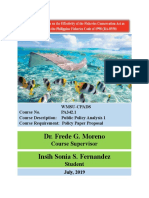 RA- 8550 POLICY EVALUATION ON FISHERIES CONSERVATION - DRAFT WORK (Autosaved).docx