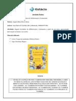 Atividade Prática de Alfabetização e Letramento. Ana Paula