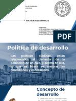Politica de Desarrollo Guatemala