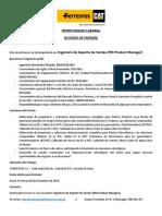Oportunidad Laboral Ing. Electricista - Div. Energia Ferreyros