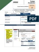 Fta 2019 2b Derecho Financiero y Presupuestario m2
