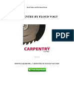 carpentry by floyd vogt