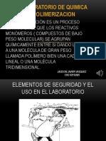 Laboratorio II Quimica Polimerizacion