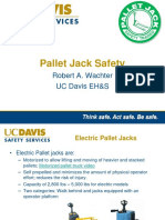 Pallet Jack Safety Training