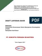 PTMP Draft Laporan Akhir