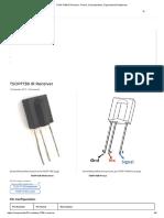 TSOP1738 IR Receiver- Datasheet