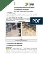 4. Diagnostico, Estudios Hidrologicos y Factibilidad.