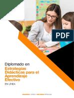 Anahuac Brochure Dip Estrategias Didacticas Parael Aprendizaje Efectivo