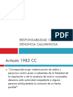 10. Responsabilidad Civil Por Denuncia Calumniosa